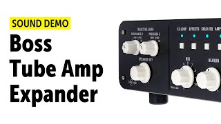 Boss WAZA Tube Amp Expander - Sound Demo (no talking)