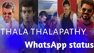Thala Thalapathy Whatsapp Status 😎sullan songs whatsapp status🔥tamil whatsapp status video🔥mp yuvann