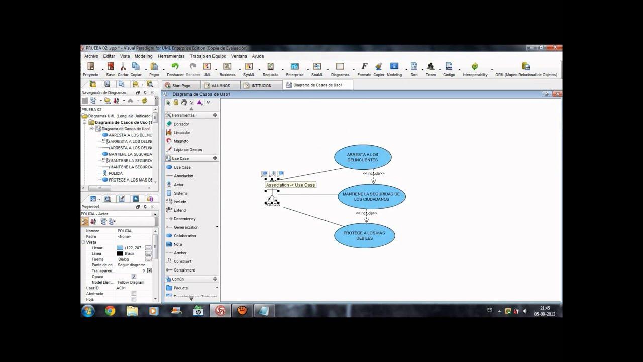 herramientas case tutorial uso visual paradigm 102 youtube maxresdefault watchvxyiqzgggpae - Visual Paradigm 102