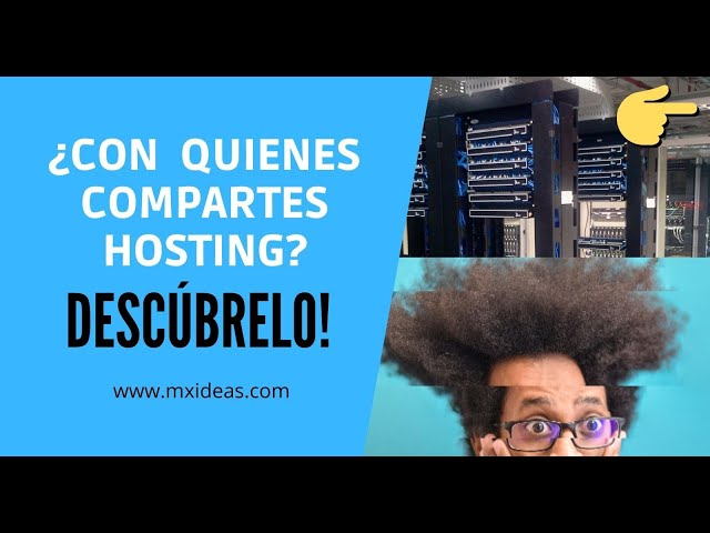 👀 Como saber con quienes comparto hosting web 🔎  FACIL 2021
