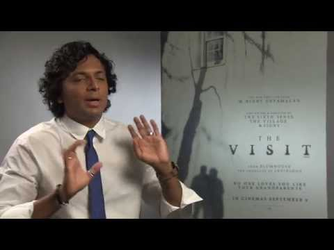 M Night Shyamalan Interview - The Visit