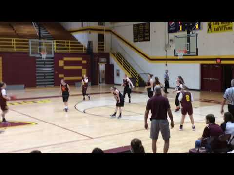 McCreary Central High School Lady Raiders Preseason Scrimmage 2017-2018