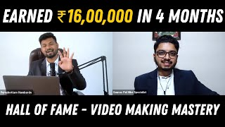 "How Saurav Pal Left His Highest Paying Job to Become a Digital Coach | ""Video Making Mastery"""