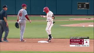 Arkansas vs. South Carolina (2018 Super Regional Game 1)