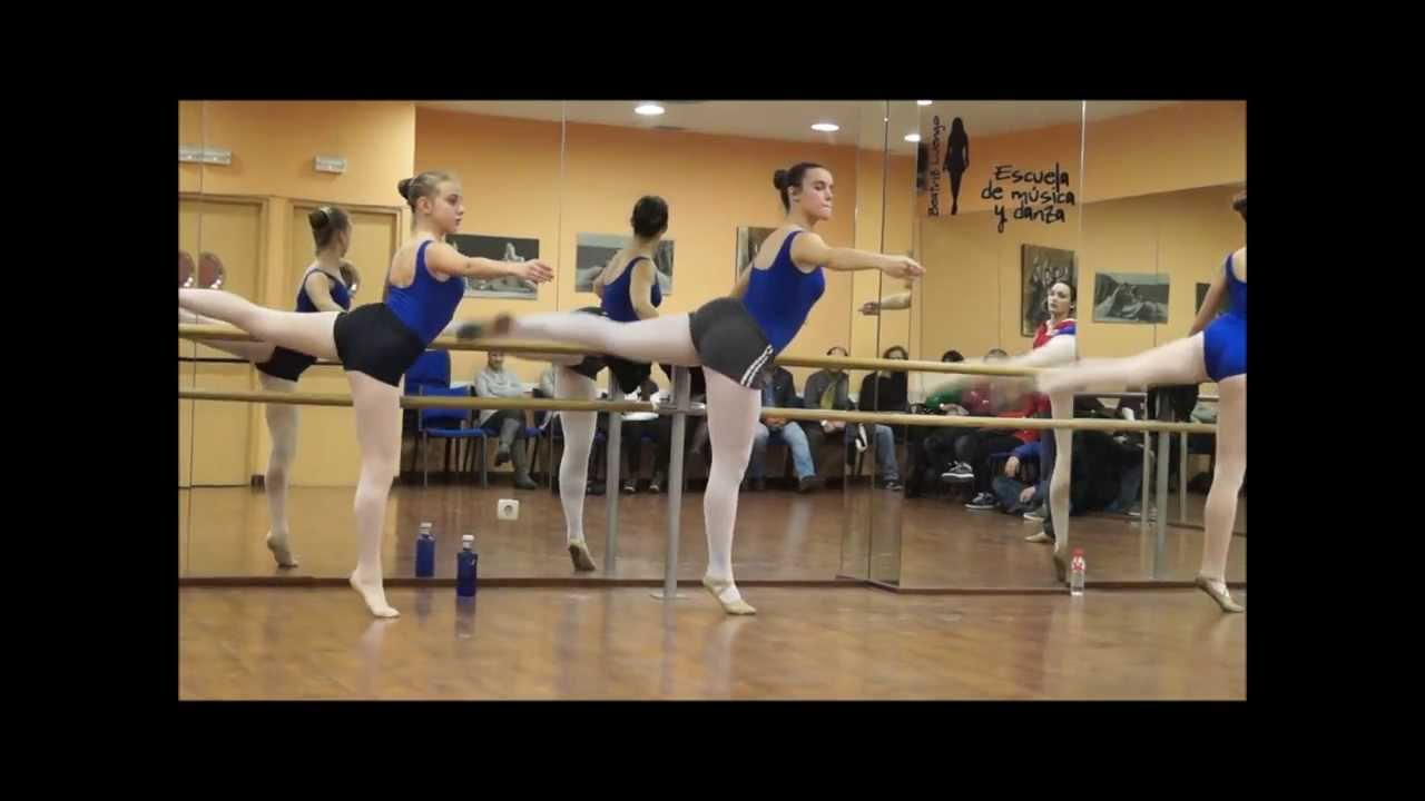 Ejercicios de barra clases de ballet youtube - Barras de ejercicio para casa ...
