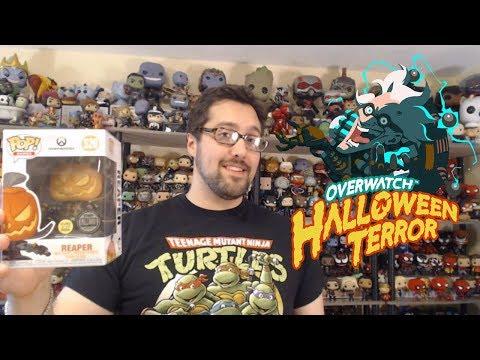 Funko Pop Overwatch Pumpkin Reaper Unboxing