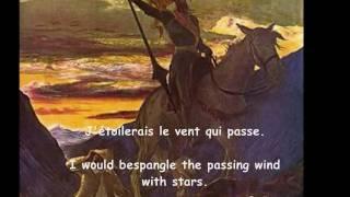 """Ravel - """"Don Quichotte à Dulcinée""""  Fischer-Dieskau"""