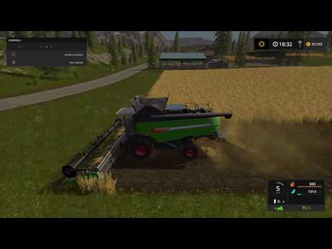 Farming Simulator 17 #4 keeping it real goldcrest