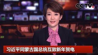 [中国新闻] 习近平同蒙古国总统巴特图勒嘎互致新年贺电 | CCTV中文国际