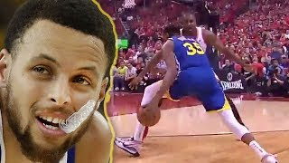Gambar cover Steph Curry Cries After Seeing Kevin Durant's Achilles Injury At NBA Finals