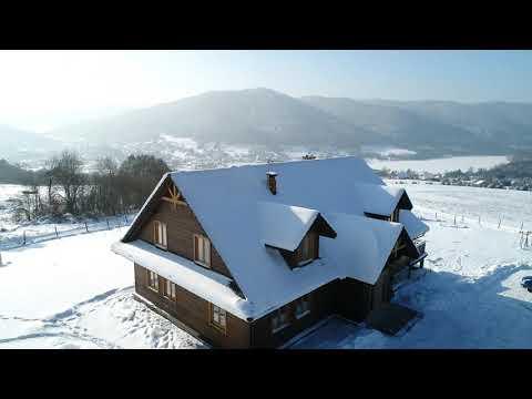 Orlik zimą - noclegi w Beskidzie Niskim nad Jeziorem Klimkowskim. Zanocuj w pięknym miejscu!