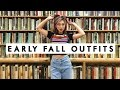 🍁 EARLY FALL OUTFITS 🍁 FOLLOW ME AROUND HOLLYWOOD! 👧🏻