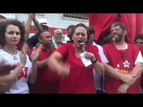 "Fátima: Brasil vai ser feliz com Lula ""inocente"" e ""presidente"""