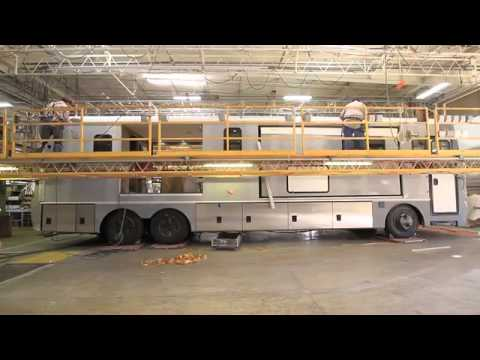 2014 Newmar Factory Tour Production Manufacturer Video By Dick Gore's RV World