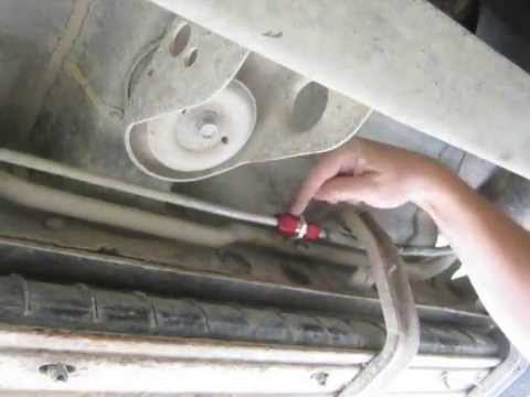 Brake Line Repair Kit >> Fixing car A/C Lines with a splice kit - Rear A/C repair - YouTube