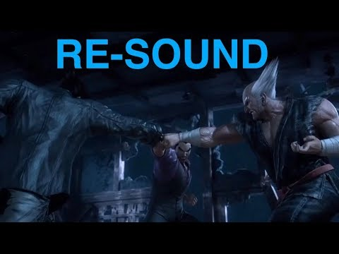 Tekken Blood Vengeance - Jin VS Kazuya VS Heihachi [RE-SOUND]