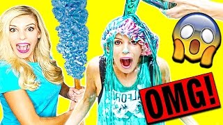 DIY GIANT ROCK CANDY EXPERIMENT - GONE WRONG!!