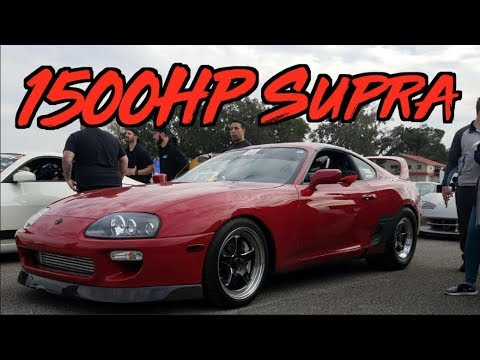 1500HP Sequential Supra Rippin' to 190+mph!