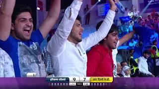 Pro Kabaddi 2018 - Haryana Steelers vs Dabang Delhi Match Highlights