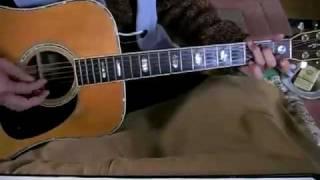 素人のギター弾き語り 朝 若林純夫 1972年?