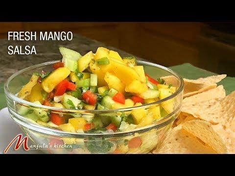 Fresh Mango Salsa (Mango Salad) Recipe By Manjula