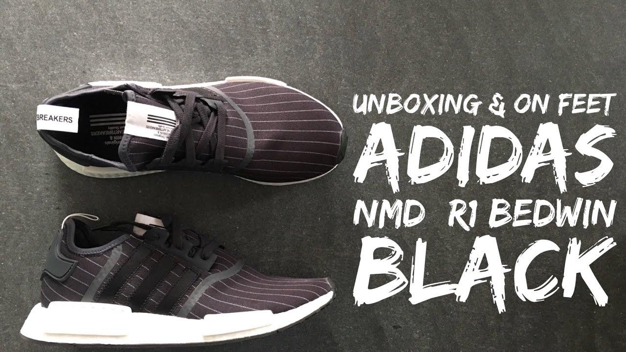 2240e07bfd75 Adidas NMD R1 Bedwin  Black