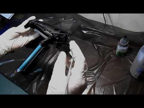 Видео Ремонт картриджей принтера