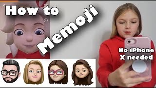 Memoji tutorial for ios and android. No IPhoneX Needed.