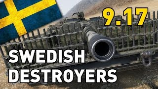 World of Tanks || Swedish Tank Destroyers - 9.17 Preview