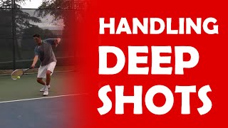 Handling A Deep Shot | ON THE RISE FOREHAND