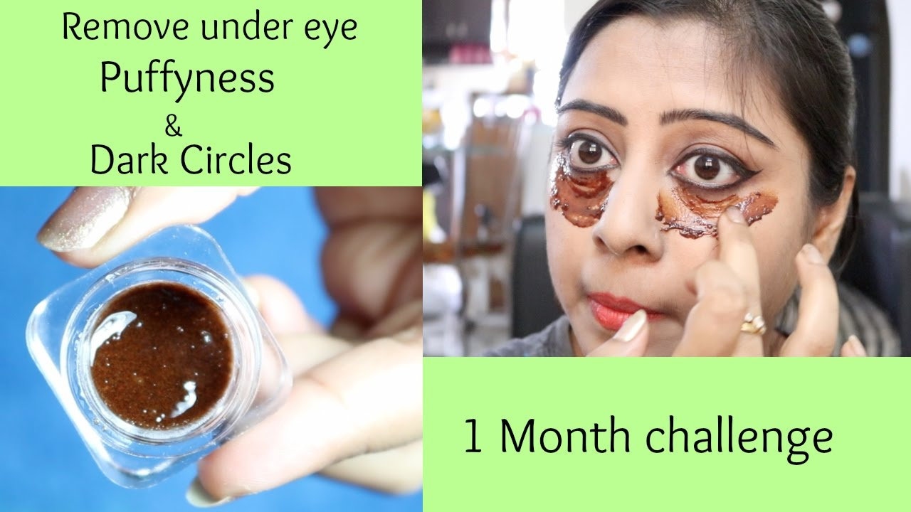 Coffee Under Eye Gel for Dark Circles & Puffy Eyes - YouTube