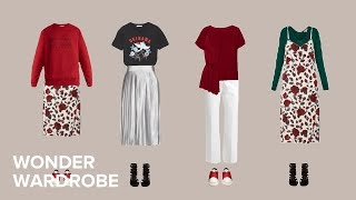 Do More With Less - Spring Capsule Wardrobe Example.