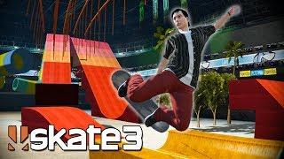 Skate 3: ZEXYZEK'S CUSTOM DREAM SKATE PARK!