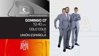 Campeonato Nacional - Colo Colo vs U.Española
