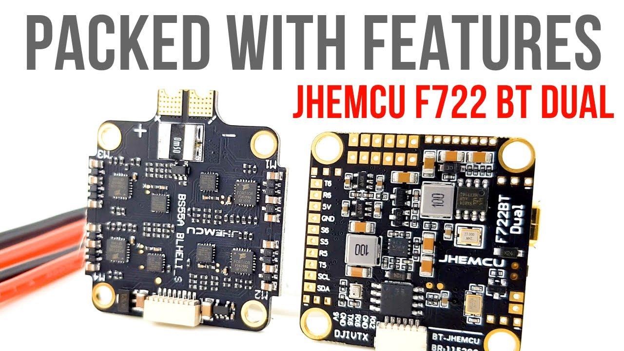 IT HAS EVERYTHING!!! // JHEMCU F722 BT Dual 55A