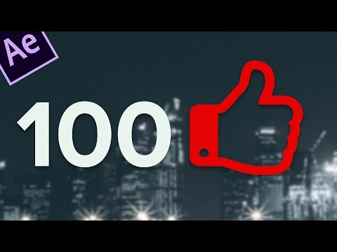 How to make a Like Button Animation in After Effects + Like Button animation Download