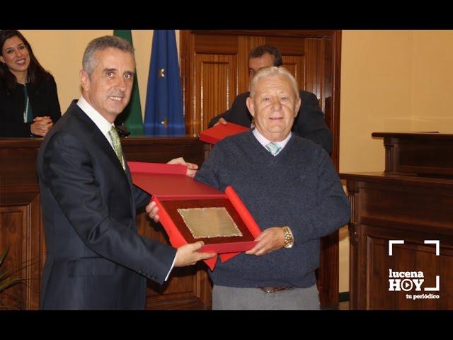 VÍDEO: Actos del día de la Constitución en Lucena