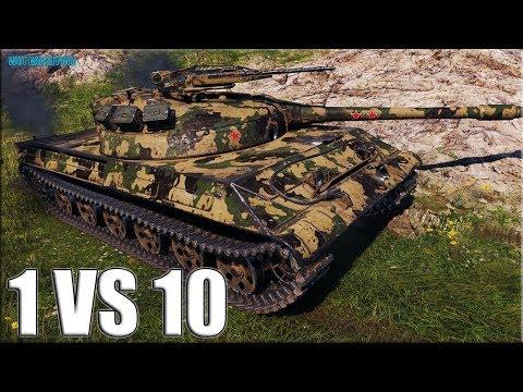 Объект 430У против ТОЛПЫ ✅ World of Tanks лучший бой