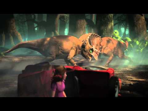 The Lost World 4D Trailer | Official Version