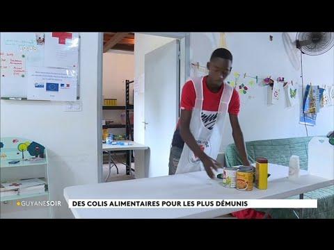 Solidarité : reprise de la distribution de colis alimentaires à la Croix-Rouge