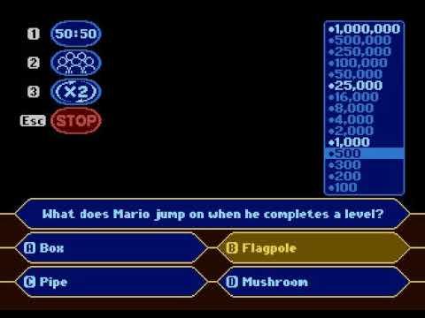 My Atari Millionaire attempt