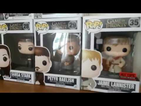 MAMMOTH Game Of Thrones Funko Pop Collection Unboxing!  Huge Mail Day!!!