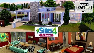 The Sims 4 || Speed Build || Get Famous - Mid Century Modern