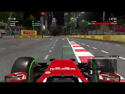 F1LOZ S2 Singapore Qually and Last Hour Race