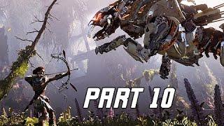 Horizon Zero Dawn Walkthrough Part 10 - Sanctuary (PS4 Pro Let's Play Commentary)