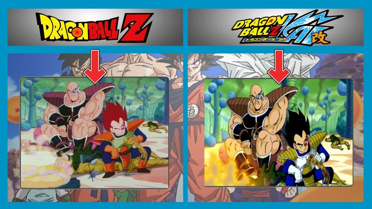 Dragon Ball Z Hashtags: DIFERENCIAS Entre DRAGON BALL Z Y DRAGON BALL KAI 🐉 *TODA