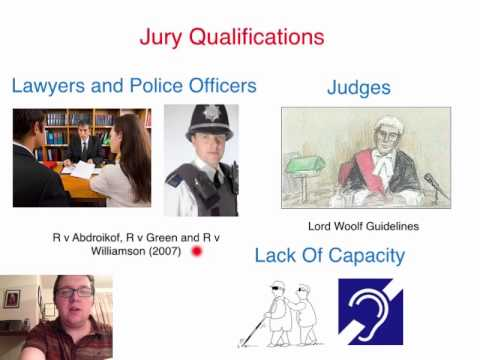 AS Law Lecture: Juries