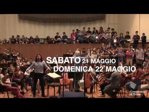 Per I Suoni del Conservatorio CARMINA BURANA di CARL ORFF