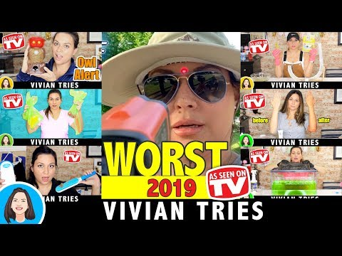 WORST AS SEEN ON TV PRODUCTS: 2019 Year In Review - Vivian Tries