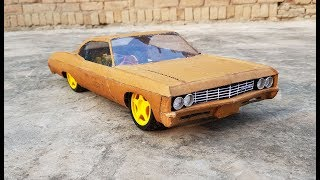 WOW! Super RC Impala || DIY at Home || Chevrolet Impala 1969 || How to make Electric Toy Car